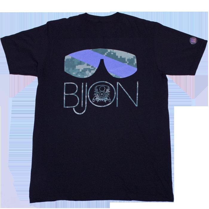 Bijon_Camo_Tee_Unisex_Black